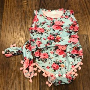 Other - 0-3 month baby girl bodysuit